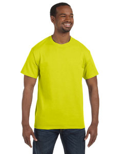 Hanes Men's 6.1 oz. Tagless T-Shirt 5250T SAFETY GREEN