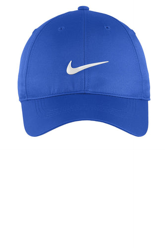 nike dri-fit swoosh front cap 548533 game royal/ white