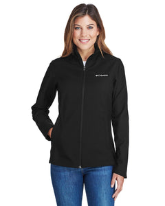 Columbia Black 5343 embroidered jackets for business