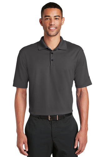 nike anthracite 604941 polo shirts with custom logo