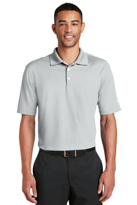 nike wolf grey 604941 work polo shirts with logo