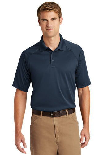 CornerStone Dark Navy TLCS410 polo custom shirts