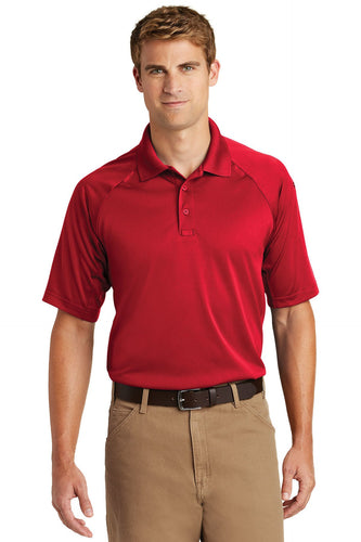 CornerStone Red TLCS410  polo custom shirts