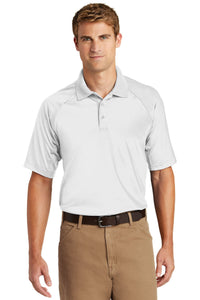 CornerStone White TLCS410  custom made polo shirts with logo