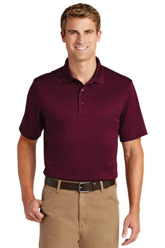 CornerStone Maroon TLCS412 custom team polo shirts