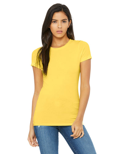 bella + canvas ladies the favorite t-shirt 6004 yellow