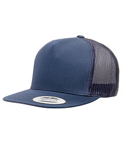 Yupoong Adult 5 -Panel Classic Trucker Cap 6006 NAVY