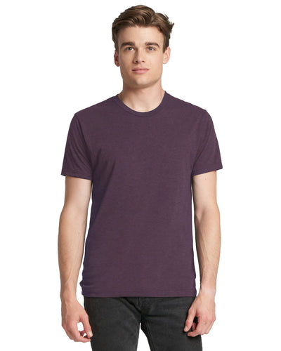 Next Level Men's Triblend Crew 6010 VINTAGE PURPLE