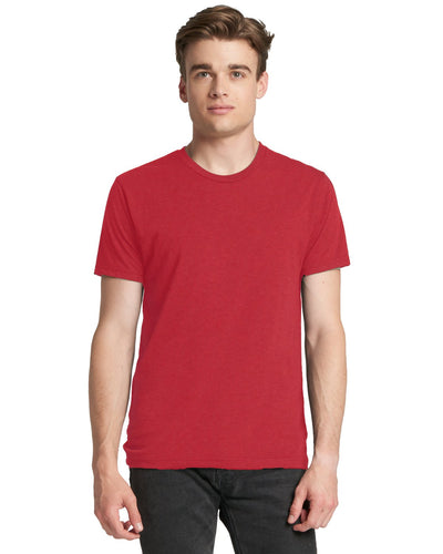 Next Level Men's Triblend Crew 6010 VINTAGE RED