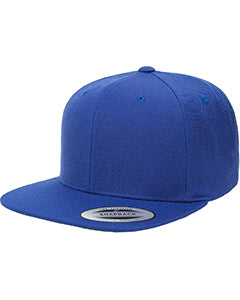 Yupoong Adult 6-Panel Structured Flat Visor Classic Snapback 6089 ROYAL