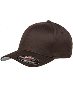 flexfit_6277_brown_company_logo_headwear