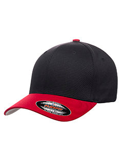 flexfit_6277_black/red_company_logo_headwear