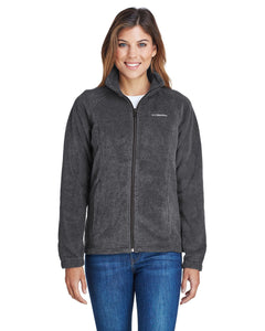 Columbia Charcoal Hthr 6439 embroidered jackets for business