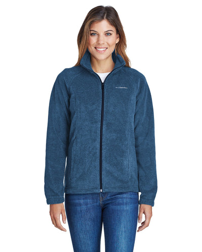 Columbia Columbia Navy 6439 embroidered jackets for business