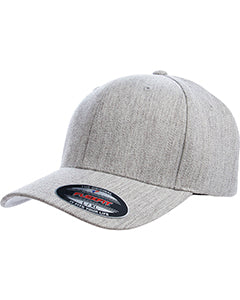 flexfit_6477_heather grey_company_logo_headwear