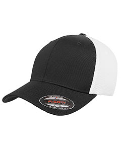 flexfit_6533_black/ white_company_logo_headwear