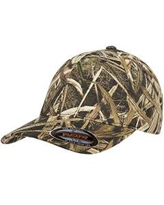 Flexfit Adult Mossy Oak® Pattern Camouflage Cap 6999 SHADOW GRASS