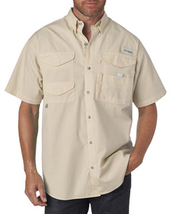 Columbia Fossil 7130 custom embroidered shirts