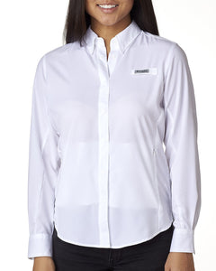 Columbia White 7278 custom work shirts