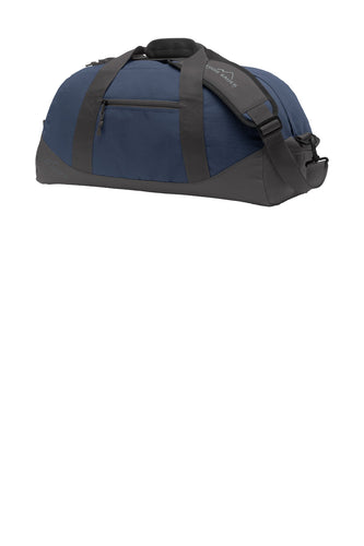 eddie bauer medium ripstop duffel eb900 coast blue grey steel