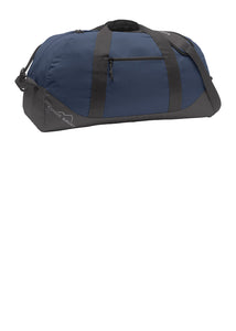 eddie bauer large ripstop duffel eb901 coast blue grey steel