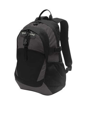 eddie bauer ripstop backpack eb910 black grey steel