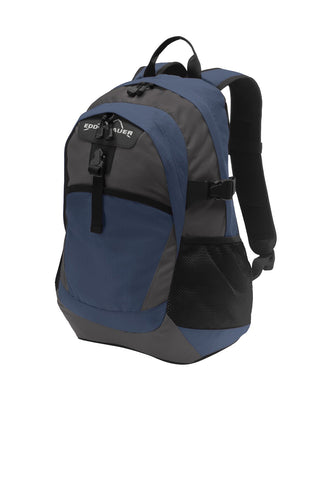 eddie bauer ripstop backpack eb910 coast blue grey steel