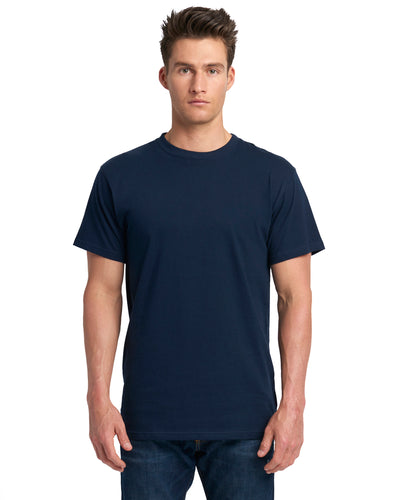 Next Level Adult Power Crew T Shirt Midnight Navy