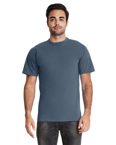 Next Level Adult Inspired Dye Crew 7410 Blue Jean