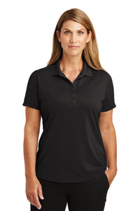 CornerStone Black CS419 polo shirts with logo embroidery