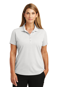 CornerStone White CS419  polo shirts with company logo
