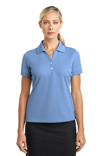Nike University Blue 286772 polo shirt with logo embroidered
