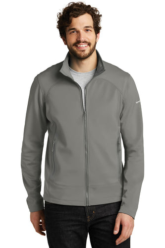 Eddie Bauer Metal Grey EB240 custom jackets with logo
