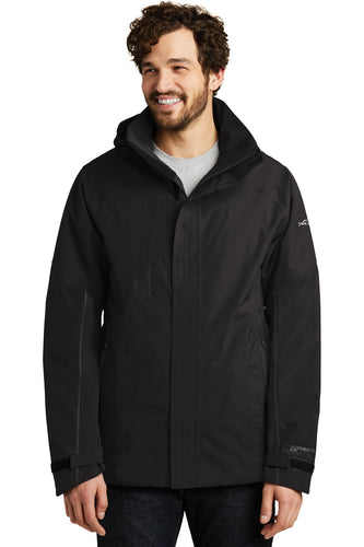 Eddie Bauer Black EB554 embroidered team jackets