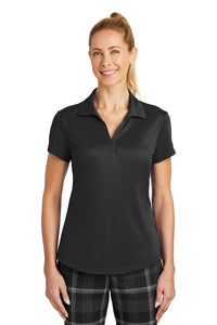 nike black 838957 polo shirts with embroidered custom logo