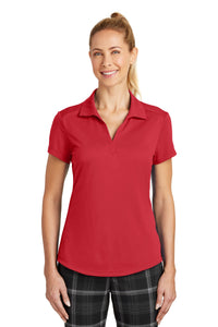 nike ladies dri fit legacy polo gym red