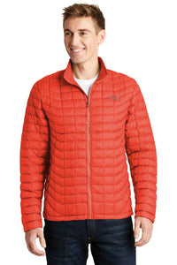 The North Face Fire Brick Red NF0A3LH2  jackets with company logo