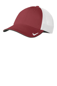 nike drifit mesh back cap nkao9293 team red white