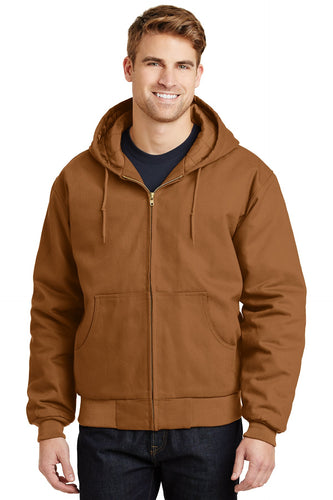 CornerStone Duck Brown J763H  business jackets with logo