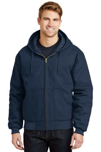 CornerStone Navy J763H business jackets with logo
