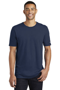 nike core cotton tee nkbq5233 college navy