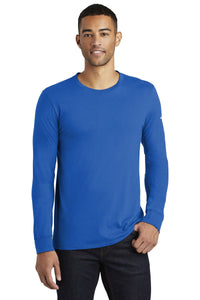 nike core cotton long sleeve tee nkbq5232 game royal
