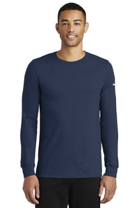 nike-dri-fit-cotton-poly-long-sleeve-tee-nkbq5230-college-navy
