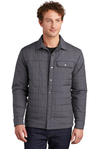 Eddie Bauer Charcoal Grey Heather EB502 company jackets with logo