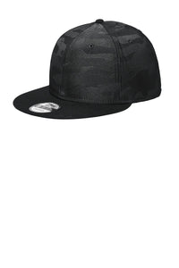 New Era NE407 Black Black Camo
