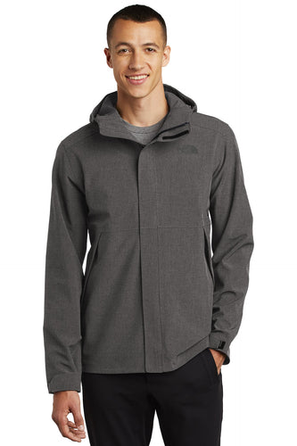 The North Face TNF Dark Grey Heather NF0A47FI custom logo jackets