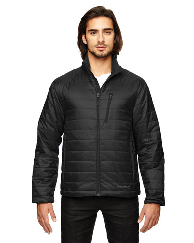 Marmot Black 98030 custom logo jackets