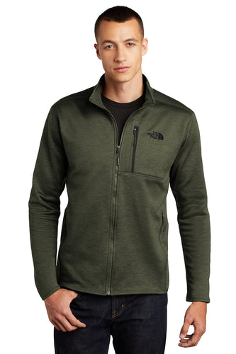 The North Face Four Leaf Clover Heather NF0A47F5 team jackets embroidered