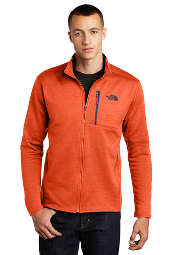 The North Face Zion Orange Heather/ Urban Navy NF0A47F5 jackets with company logo