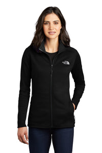 the north face ladies skyline full-zip fleece jacket tnf black